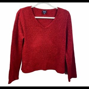 Eileen Fisher Red Sweater